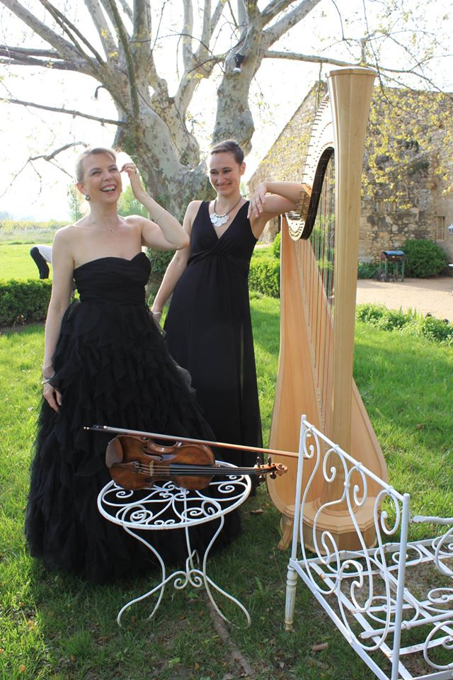 Duo-Harpe-Violon