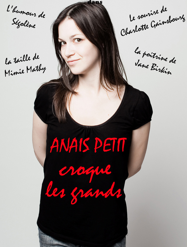 Anaïs Petit one-woman show Paris
